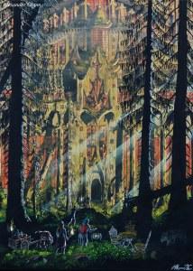 Av människan glömt, av skogen gömt